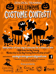 zen dog training blog it u0027s a halloween costume contest