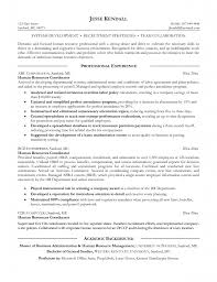 Resume Teamwork Example by Hr Resume Objective 20 Human Resources Resume Objective Examples