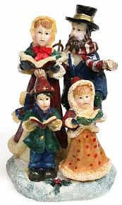 Victorian Christmas Ornaments - victorian christmas carolers polystone ornament christmas