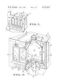 patent us4271815 prefabricated fireplace for permanent