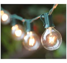 g40 string lights g40 globe string lights with 25 clear bulbs ul list for indoor