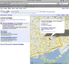Google Maps San Diego by Google Makes Everything Easier Carmen Sandiego Canada And