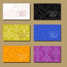 floral business card floral business card template free vector 34 512 free