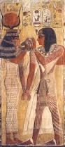 pinterest ancient egypt el faraon seti i y la diosa hathor en el louvre