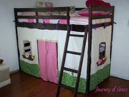 Bunk Bed Tents And Curtains Bunk Bed Canopy Ideas Elabrazo Info