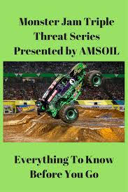 monster truck show sacramento monster jam triple threat series presented by amsoil everything
