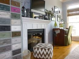 eclectic home office with crown molding u0026 built in bookshelf in