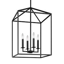 Seagull Chandelier Sea Gull Lighting Perryton Blacksmith 12 5 Inch Four Light Lantern