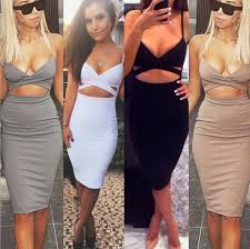 2017 2016 sleeveless bandage package hip dresses woman