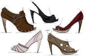 footwear sketches by jason clifton at coroflot com