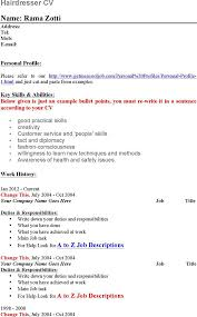 Examples Of Waitress Resume by Resume Marketing Sample Resume Carolina Center For Educational