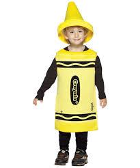 Crayon Halloween Costume Crayola Yellow Crayon Toddler Costume Crayola Costumes