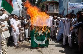 Flag Burning Protest Border Shut After Afghans Burn Pakistani Flag Forever News