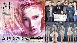 hairshow magazine alternative hair show 2015 discover the aurora