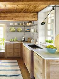 Kitchen Without Upper Cabinets by New Paltz Kitchen Reclaimed Kitchen Decorating Ideas