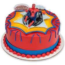 how to make a web spinner spiderman cake cakes pinterest
