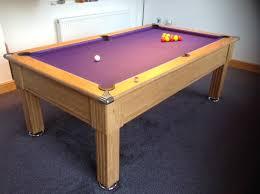 purple felt pool table purple pool table intended for iq install slimline oak finish cloth