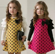 new years dresses for kids 2018 3 8 years girl fashion dress lovely bowknot autumn new style