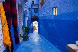 blue city morocco chair chefchaouen the blue city adventurous figs