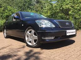 blue lexus used blue lexus ls 430 for sale middlesex
