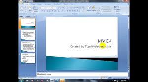 layout design in mvc 4 mvc4 razor introduction part 1 1 youtube