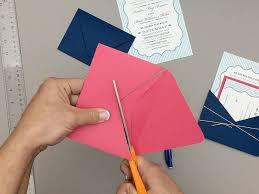 wedding pocket envelopes turn envelope into diy wedding invitation pocket