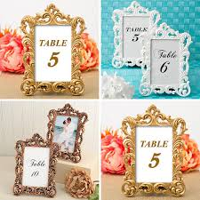 wedding table number holders wedding table numbers 10 wedding table decor holder 4 x 6