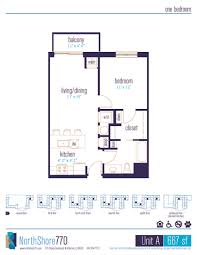 floor plans of northshore 770 in northbrook il