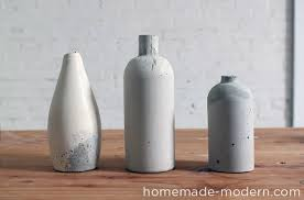 Creative Vases Ideas Diy Concrete Crafts 21 Creative Concrete Ideas Diy Projects
