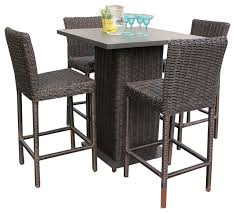 patio bistro table and chairs creative of outdoor patio bistro set rustico wicker outdoor pub with