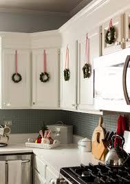 Apartment Kitchen Decorating Ideas Kitchen Dollar Tree Christmas Cabinets Decor Diy Plaid Week Day