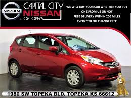 red nissan versa 2015 used cars topeka kansas capital city nissan of topeka