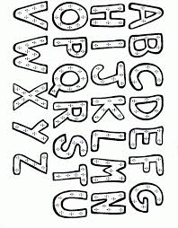 alphabet coloring pages drawings alphabet coloring