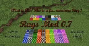 Minecraft Decoration Mod Minecraft Rug Roselawnlutheran