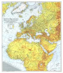 Northwestern Europe Map by Of War In Europe Africa And Western Asia Map