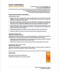 Web Developer Resume Examples by Web Developer Resume Is Needed When Someone Want To Apply A Job As