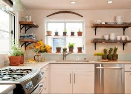 Kitchen Window Decorating Ideas 25 Creative Window Decorating Ideas With Open Shelves Space