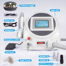 yag laser tattoo removal machine sale new design q switched nd