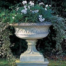 garden urns urn planter clearance garden urn flowers with concrete