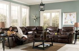 Distressed Leather Upholstery Fabric Lovable Brown Sectional Living Room Ideas Using Distressed Leather