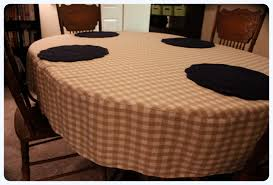 Oblong Table Cloth Decor U0026 Tips Diy Project Oval Tablecloth With Dining Set And
