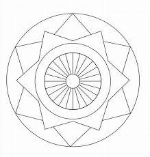 8 photos simple geometric mandala patterns free
