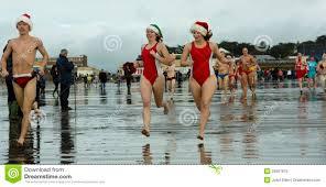 Christmas beach editorial image Image of christmas attractive