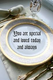you are special plate you are special place setting popsicle
