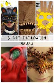 5 diy halloween masks discountqueens com