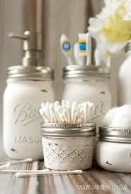 mason jar bathroom storage u0026 accessories mason jar crafts