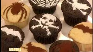 chocolate halloween cakes video make creepy cup cakes for halloween martha stewart