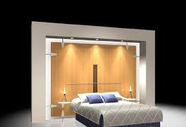 bed back wall design bed with back wall 3d wardrobe cgtrader