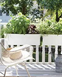 Window Box For Herbs Small Space Garden Ideas Martha Stewart