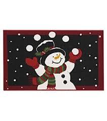 Snowman Rug Rugs Accents U0026 Decorations Christmas Carson U0027s